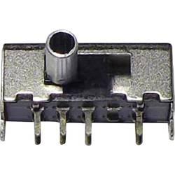 Posuvný přepínač 50 V/DC 0.3 A 2x zap/zap/zap 1 ks