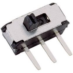 Posuvný přepínač TRU COMPONENTS 20 V/DC, 0.1 A, 1x zap/zap, 1 ks