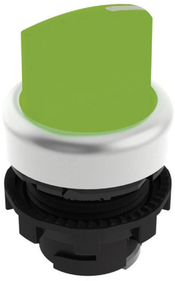 Tlačidlo voľby Pizzato Elettrica E21SL13ACH49AB, 2 x 45 °, zelená, 1 ks