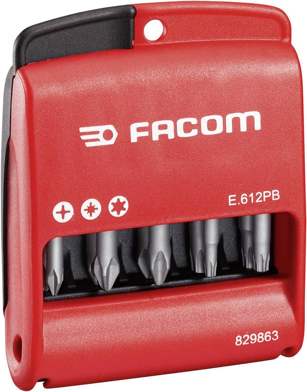 Sada bitů Facom E.611PB, 50 mm, 10dílná