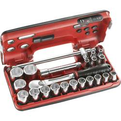 """Súprava nástrčných kľúčov Facom SL.DBOX4, 1/2"""" (12.5 mm), 22-dielna"""