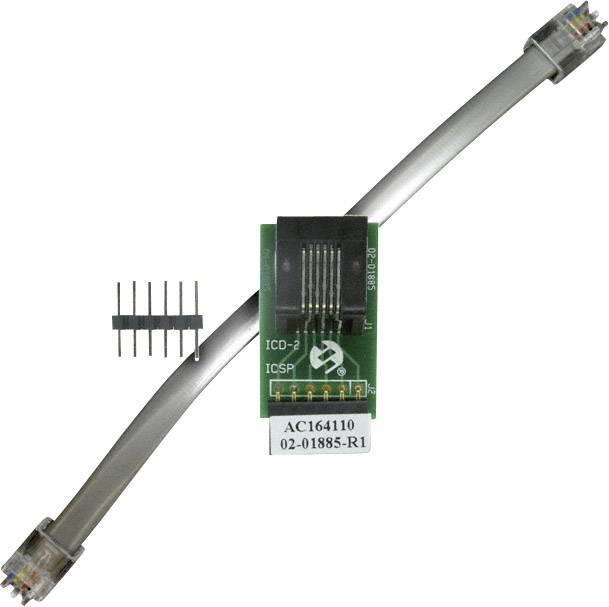 Adaptér RJ-11 / ICSP Microchip Technology AC164110
