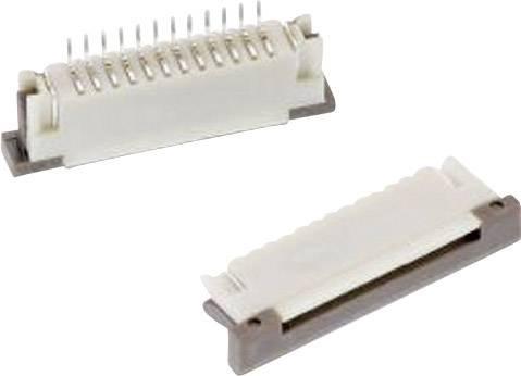Zásuvková lišta (štandardná) Würth Elektronik WR-FPC 68612014122, 27.00 mm, pólů 20, rozteč 1 mm, 1 ks