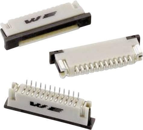 Zásuvková lišta (štandardná) Würth Elektronik WR-FPC 68611214422, 19.00 mm, pólů 12, rozteč 1 mm, 1 ks