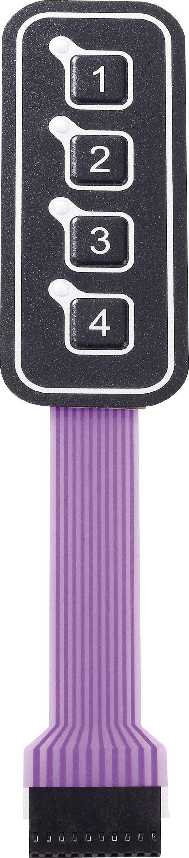 Fóliová klávesnica 1 x 4 APEM AC3559ILL, 1 ks