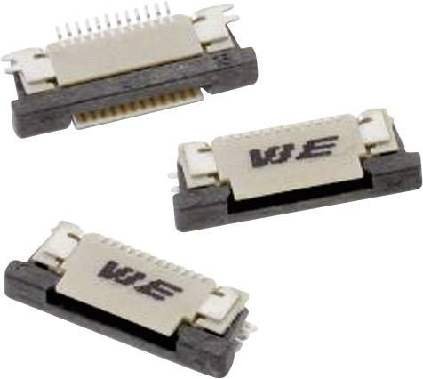 Zásuvková lišta (štandardná) Würth Elektronik 68711014022 68711014022, 11.50 mm, pólů 10, rozteč 0.50 mm, 1 ks