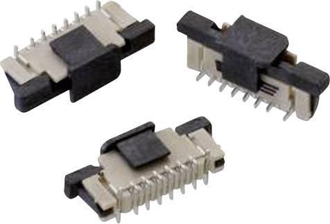 Zásuvková lišta (štandardná) Würth Elektronik 687306124422 687306124422, 9.40 mm, pólů 6, rozteč 0.50 mm, 1 ks