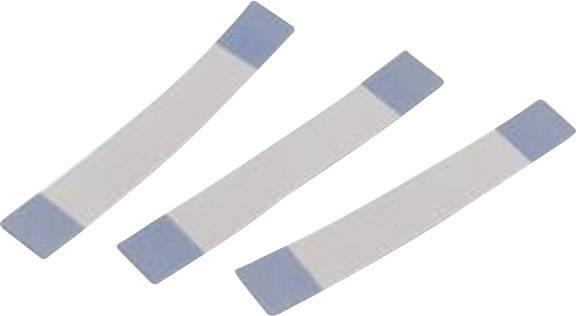 Plochý kábel Würth Elektronik 687610200002, 10 x 0.00099 mm², sivá, modrá, 1 ks