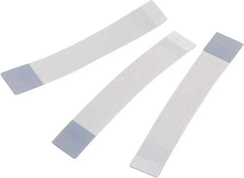 Plochý kábel Würth Elektronik 687710200002, 10 x 0.00099 mm², sivá, modrá, 1 ks