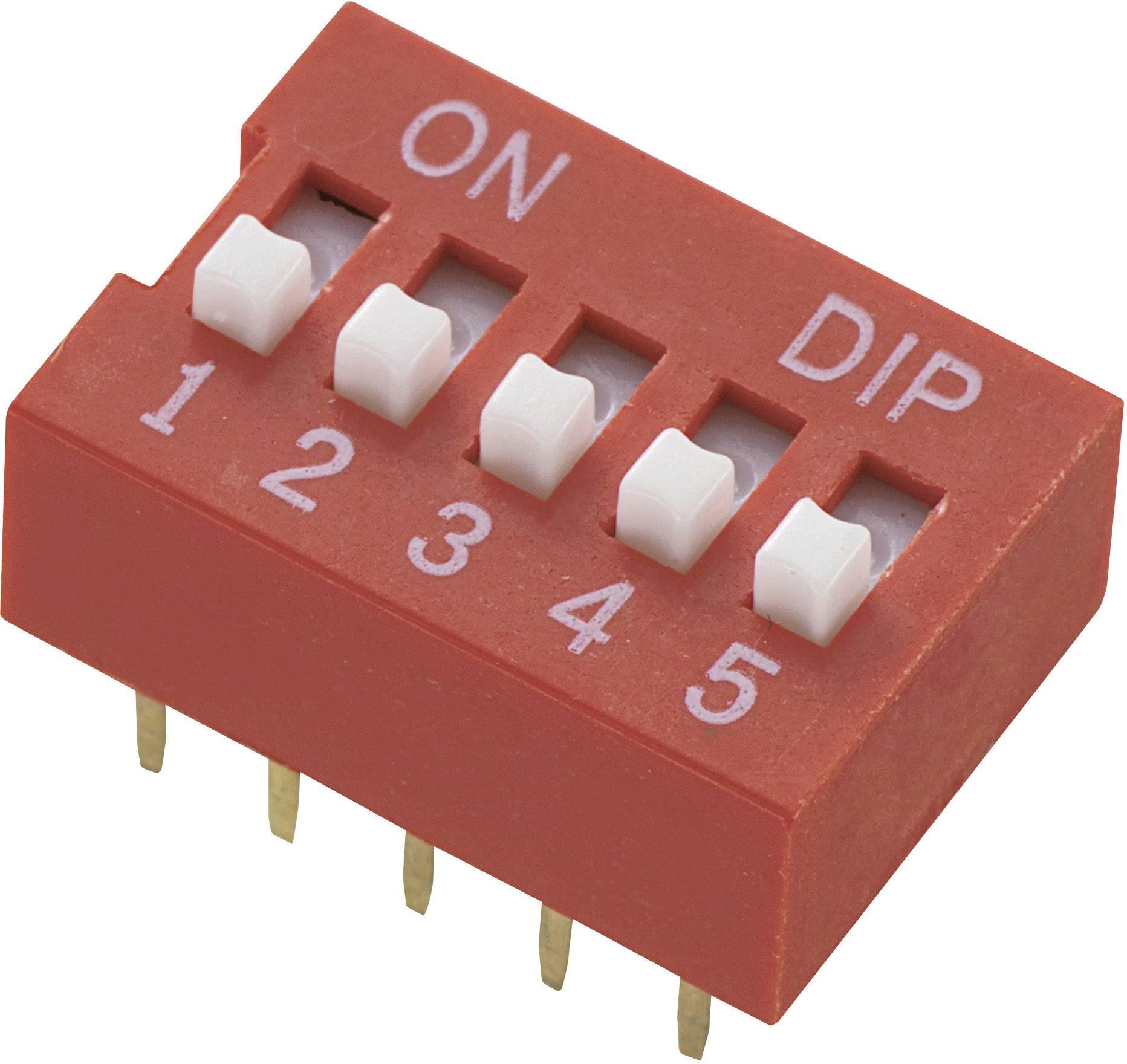 DIP spínač DS-05