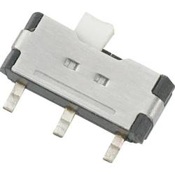 Posuvný přepínač TRU COMPONENTS SSK-1202, 12 V/DC, 0.05 A, 1x zap/zap, 1 ks