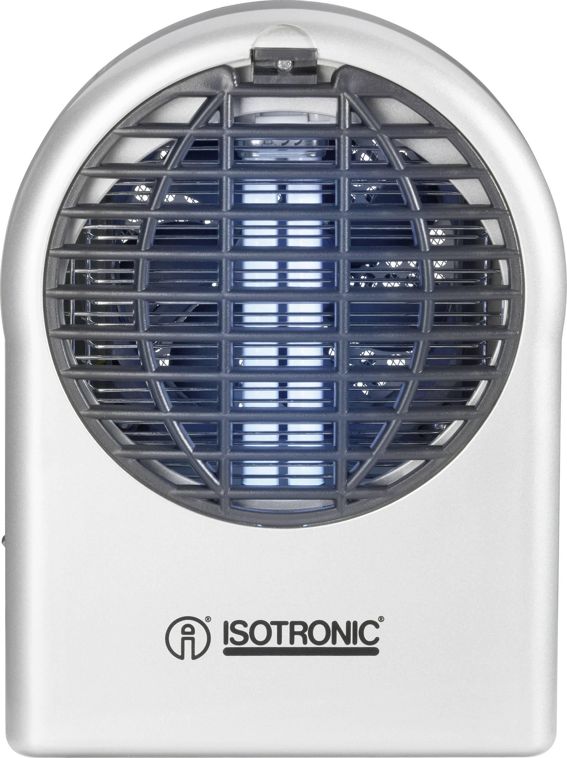 UV lapač hmyzu Isotronic Mosquito Sauger 62150, 18 W, stříbrná