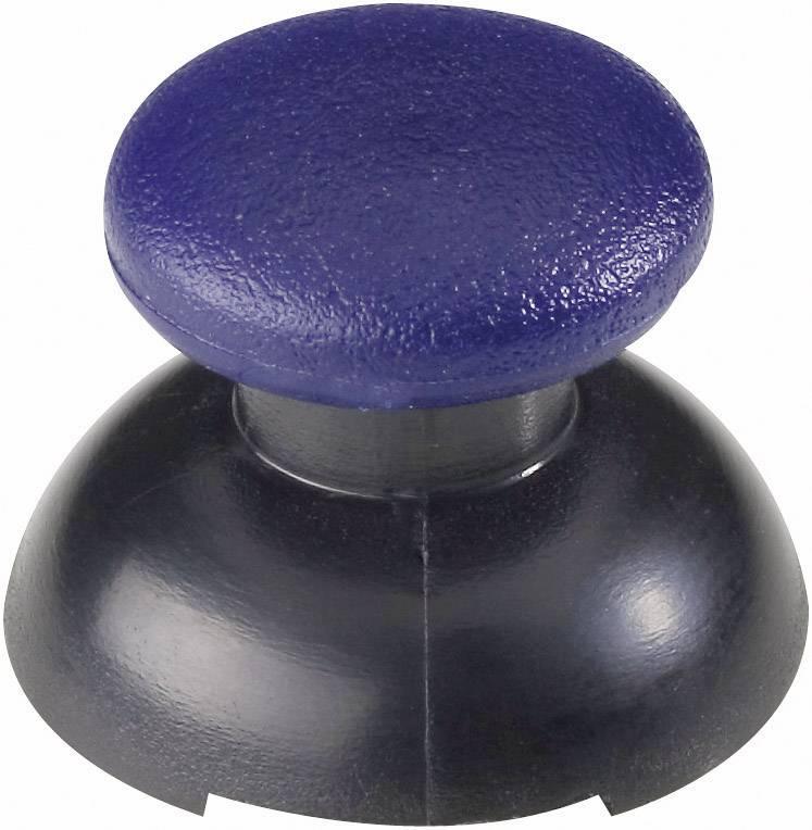 Tlačítko řady Soft Touch, modrá