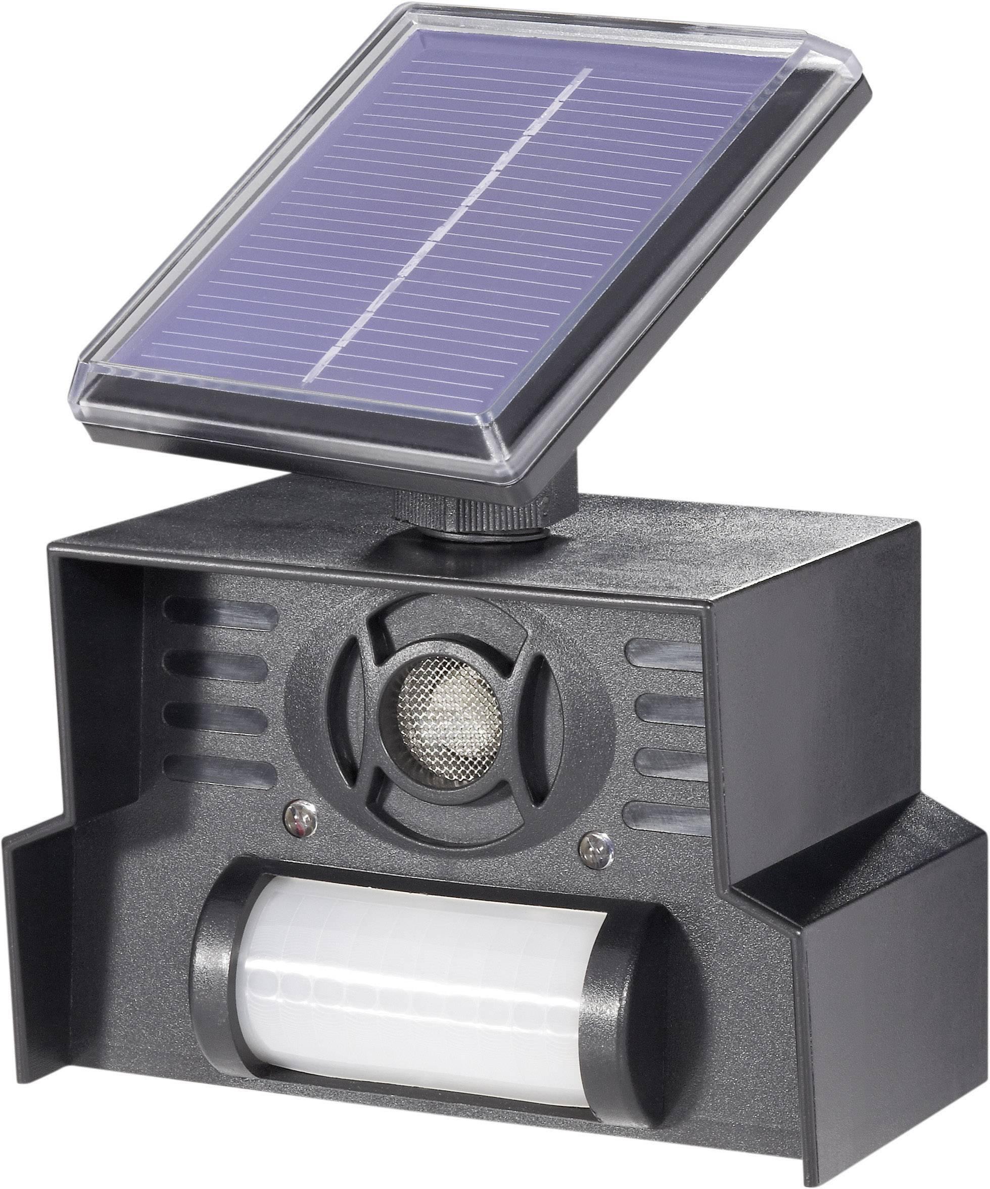 Solárny odpudzovač zvierat s PIR senzorom