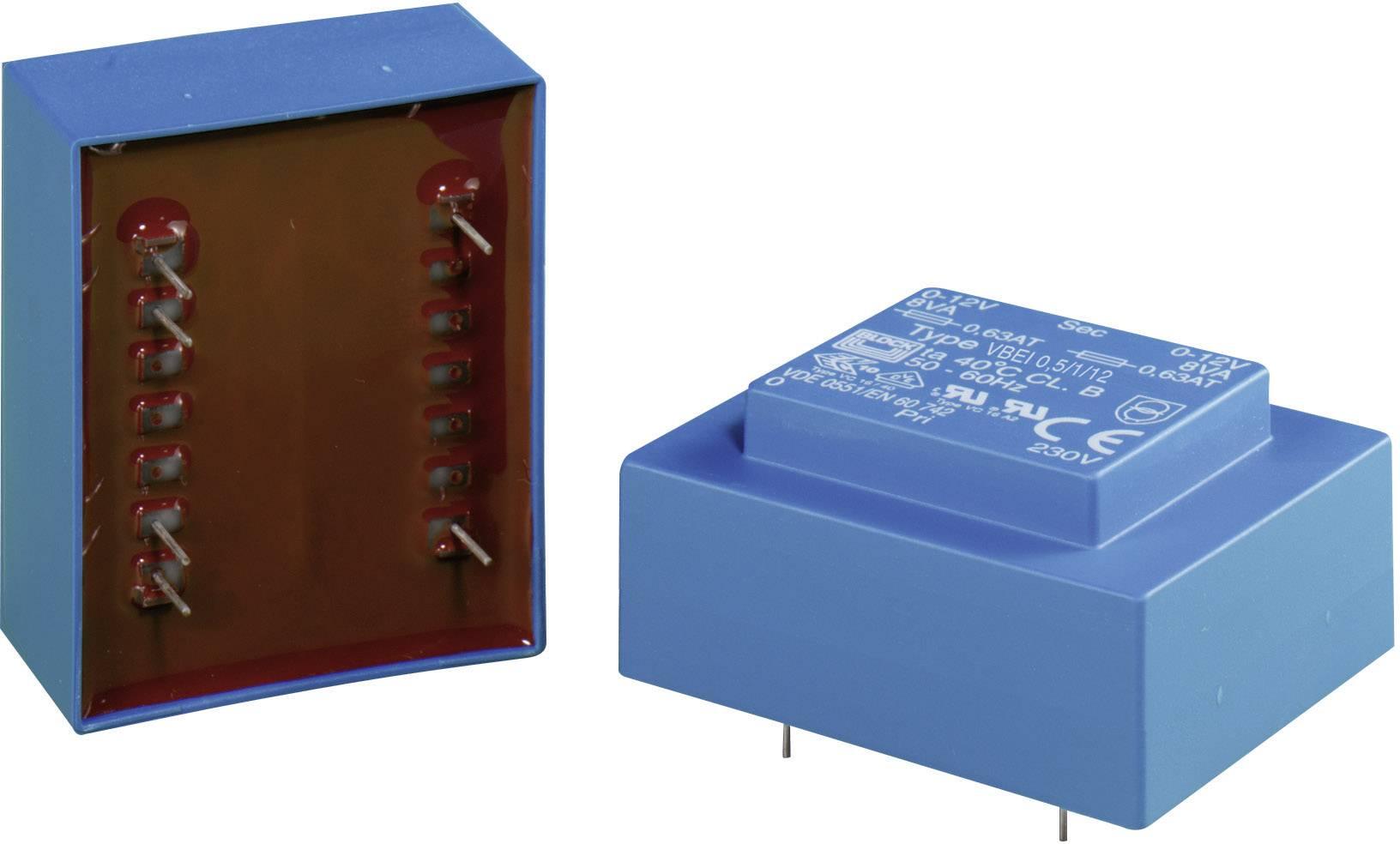 Transformátor do DPS Block VBEI 0,5/1/24, 0.50 VA