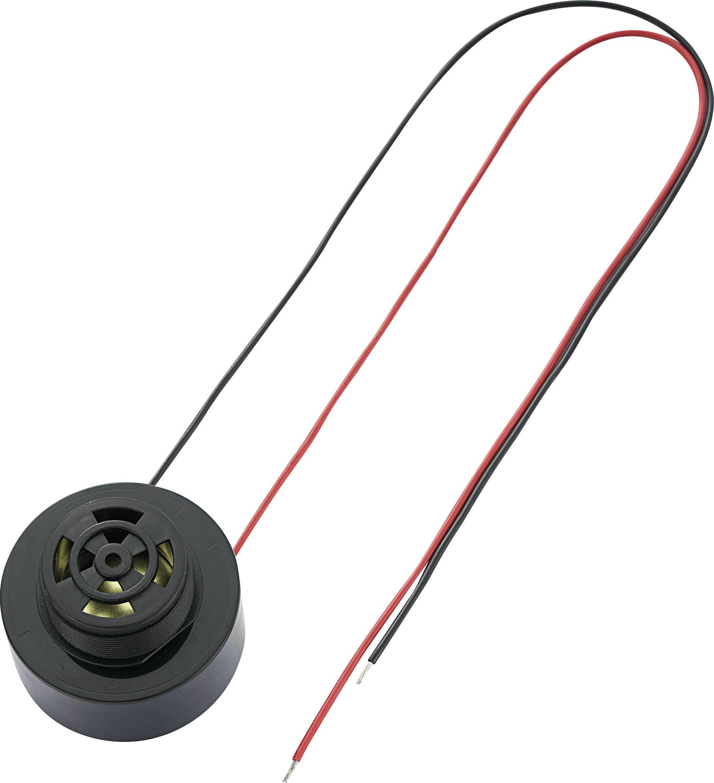 Piezoměnič, 100 dB 12 V/DC, KPI-G4360L-6310