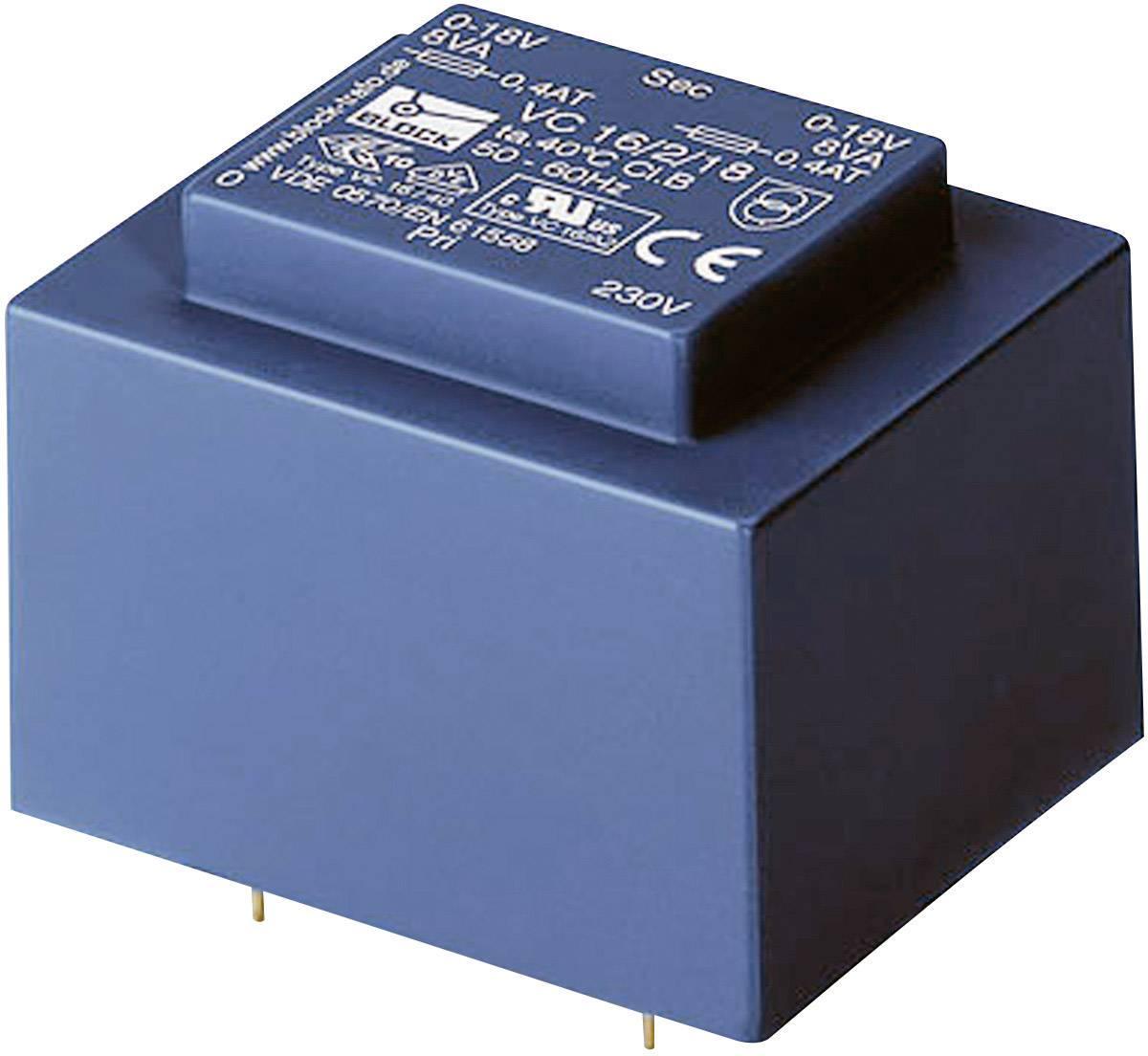 Transformátor do DPS Block VC 10/2/15, 10 VA