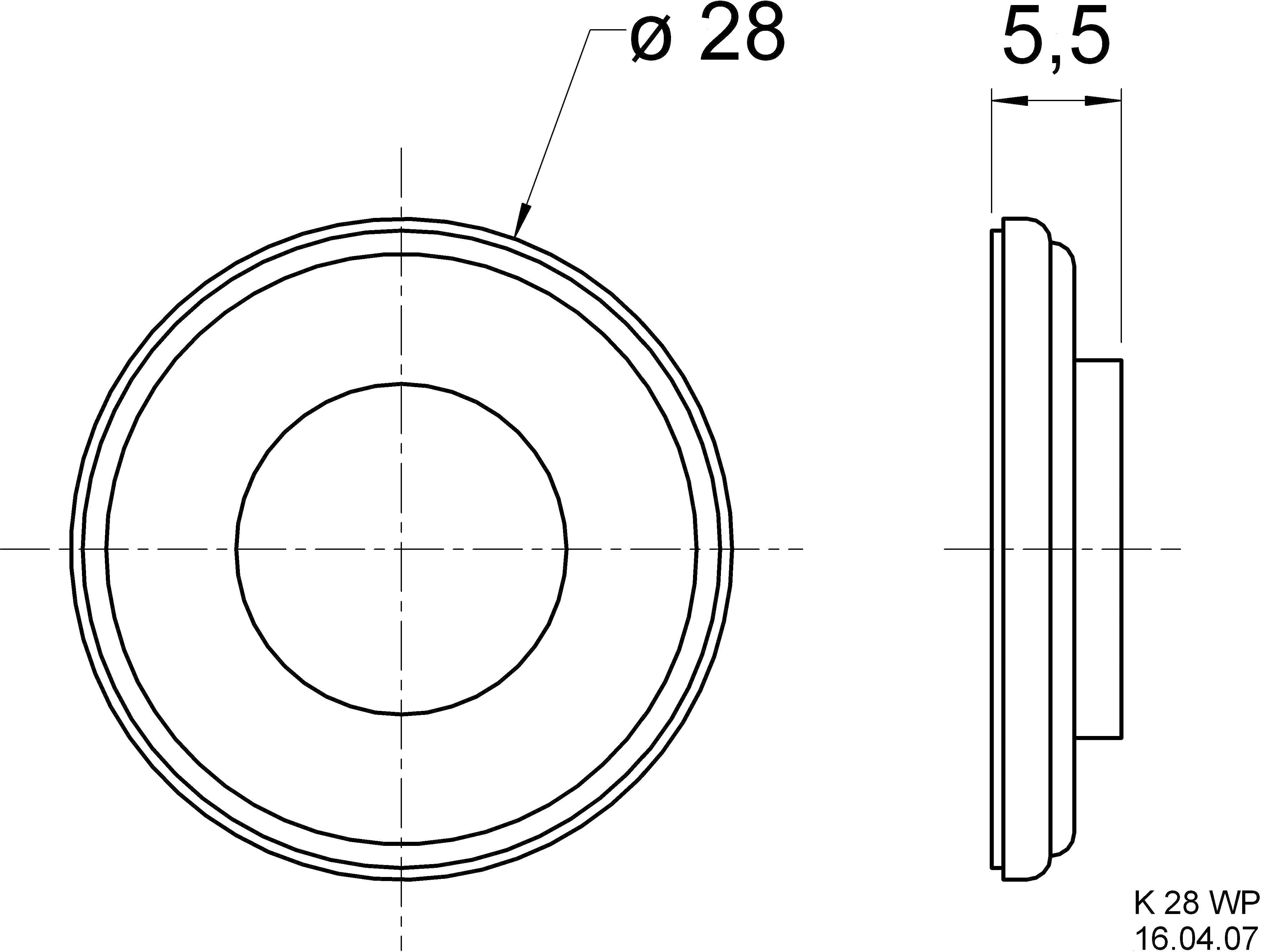 Miniaturní reproduktor 2,8 cm