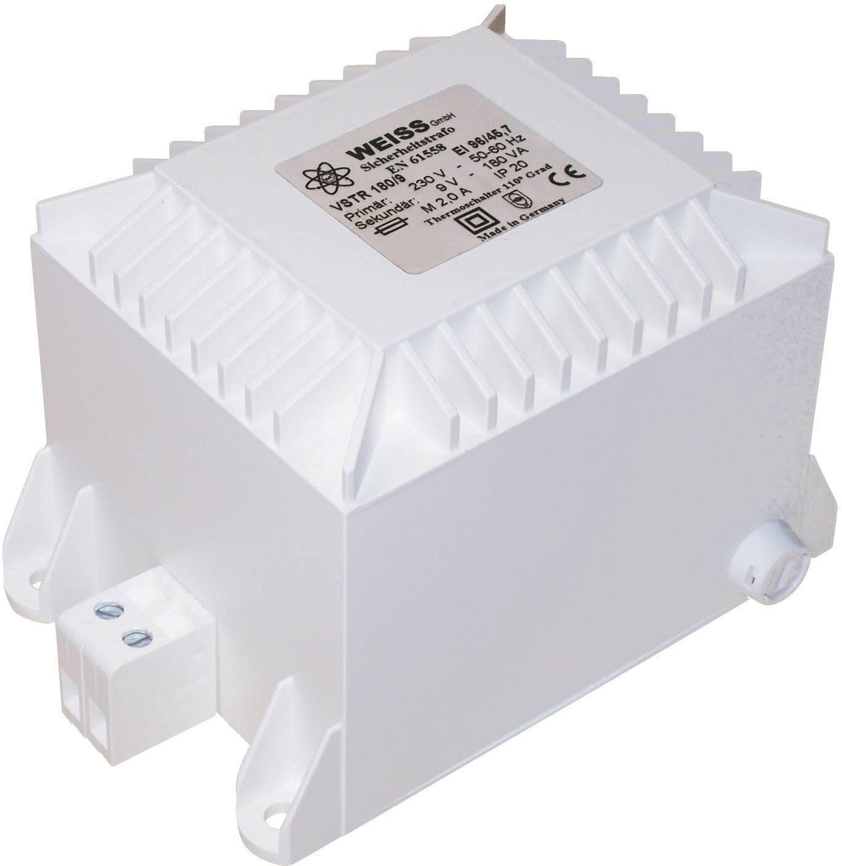 Bezpečnostný transformátor Weiss Elektrotechnik VSTR 100/24, 100 VA