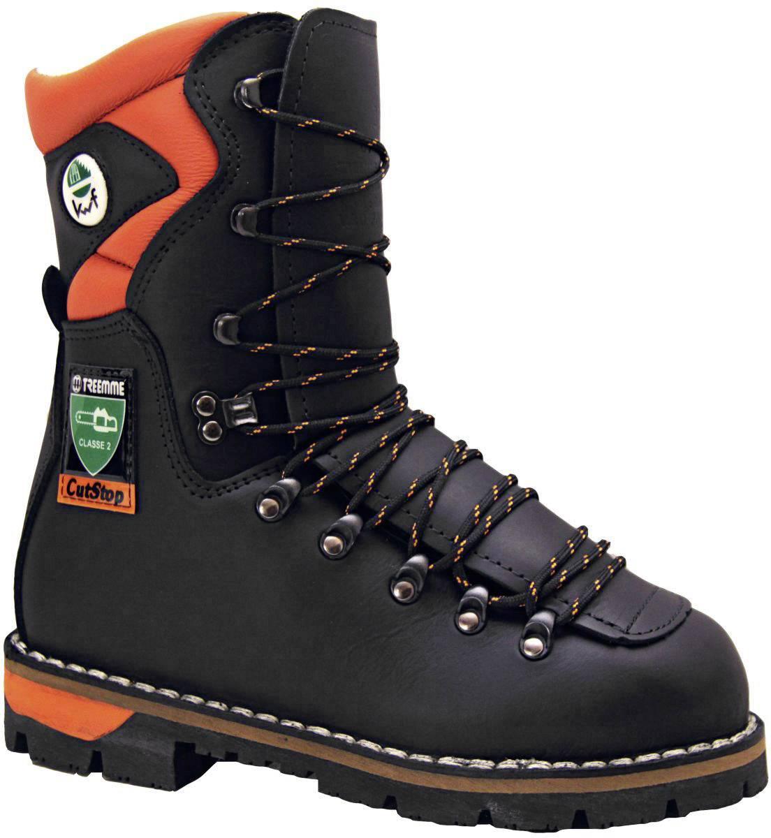 Bezpečnostná obuv s ochranou proti porezaniu S3 Treemme 2435, veľ.: 44, čierna, 1 pár
