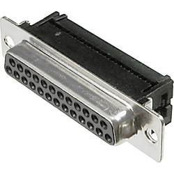 D-SUB pro plochý kabel Assmann A-DFF 09LPIII/Z, 9 pin, 180 °