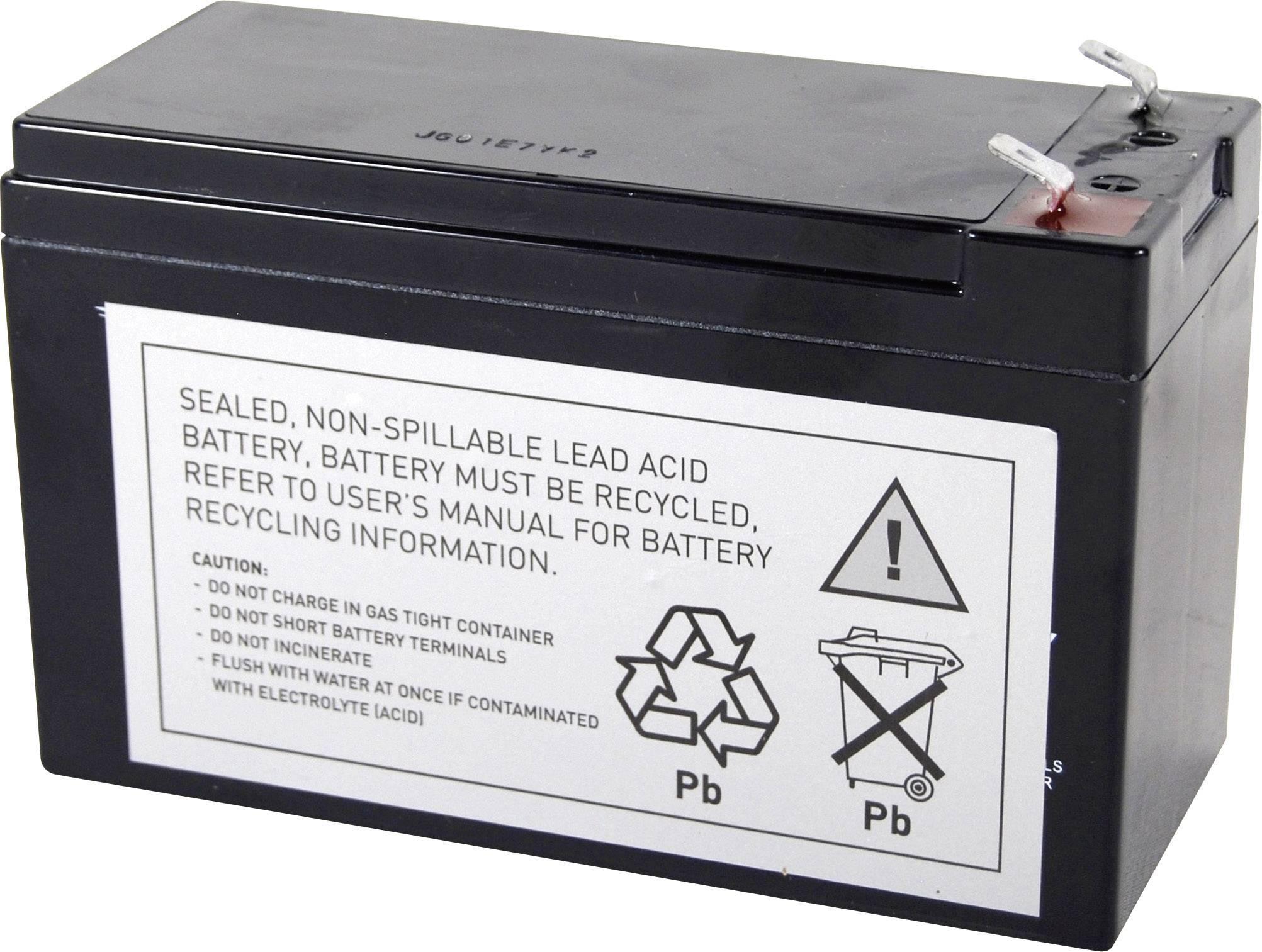 Náhradní akumulátor pro záložní zdroje (UPS) Conrad energy RBC17