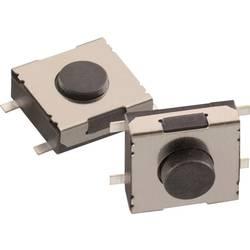 Tlačítko Würth Elektronik 430481031816, 12 V/DC, 0,05 A, SMD, 1x vyp/(zap), černá