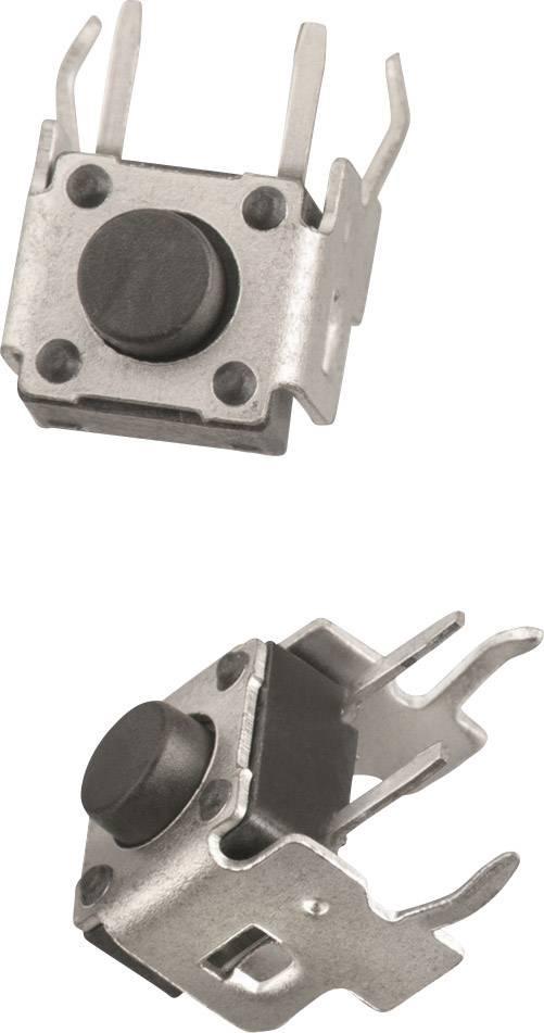 Tlačidlo Würth Elektronik WS-TST 431256038726, 12 V/DC, 0.05 A, kov, 1 ks