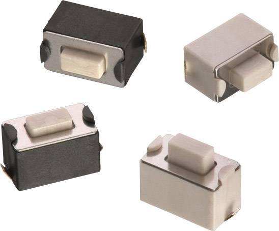 Stláčacie tlačidlo Würth Elektronik WS-TSW 434113043826, 12 V/DC, 0.05 A, 1 ks