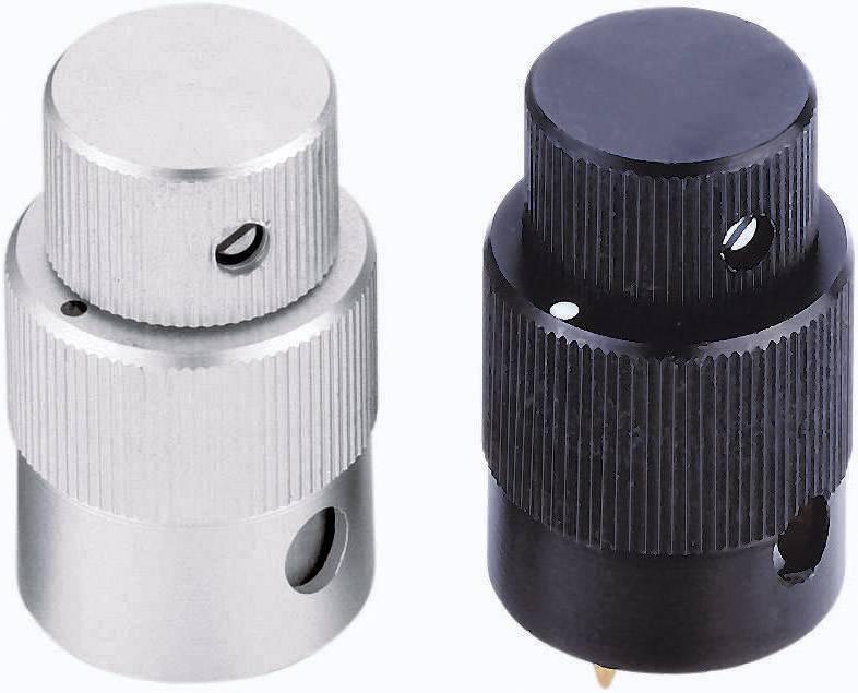 Otočný gombík Mentor 125.3, (Ø x v) 22 mm x 32.5 mm, hliník, 1 ks
