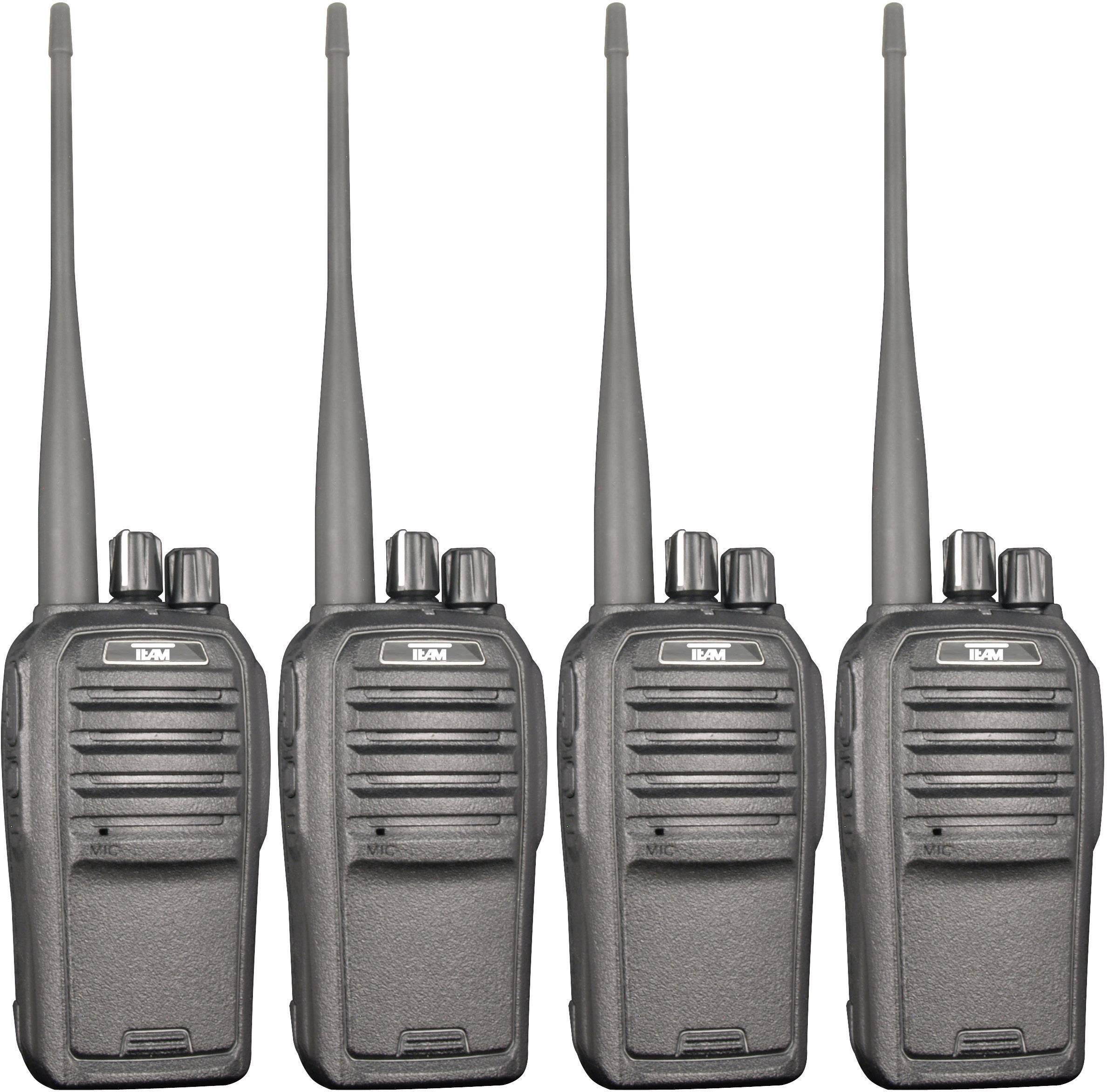PMR rádiostanica/vysielačka Team Electronic TeCom-SL PR8571, sada 4 ks