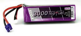 Akupack LiPol Hacker EC3, 23000631, 22.2 V, 3000 mAh, 20 C