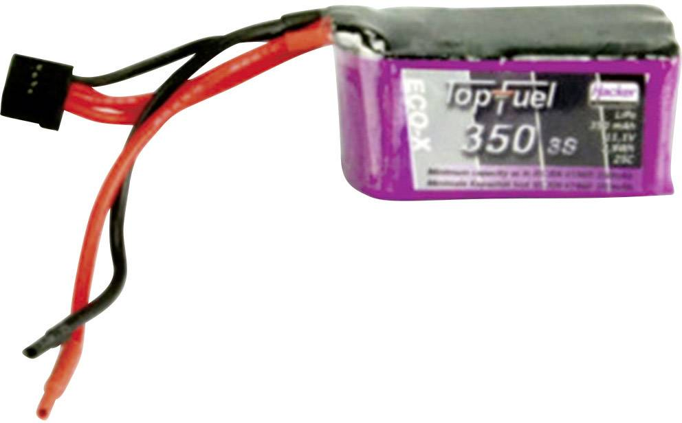 Akupak LiPol Hacker 25 C, bez konektora, 11.1 V, 350 mAh, 20350341
