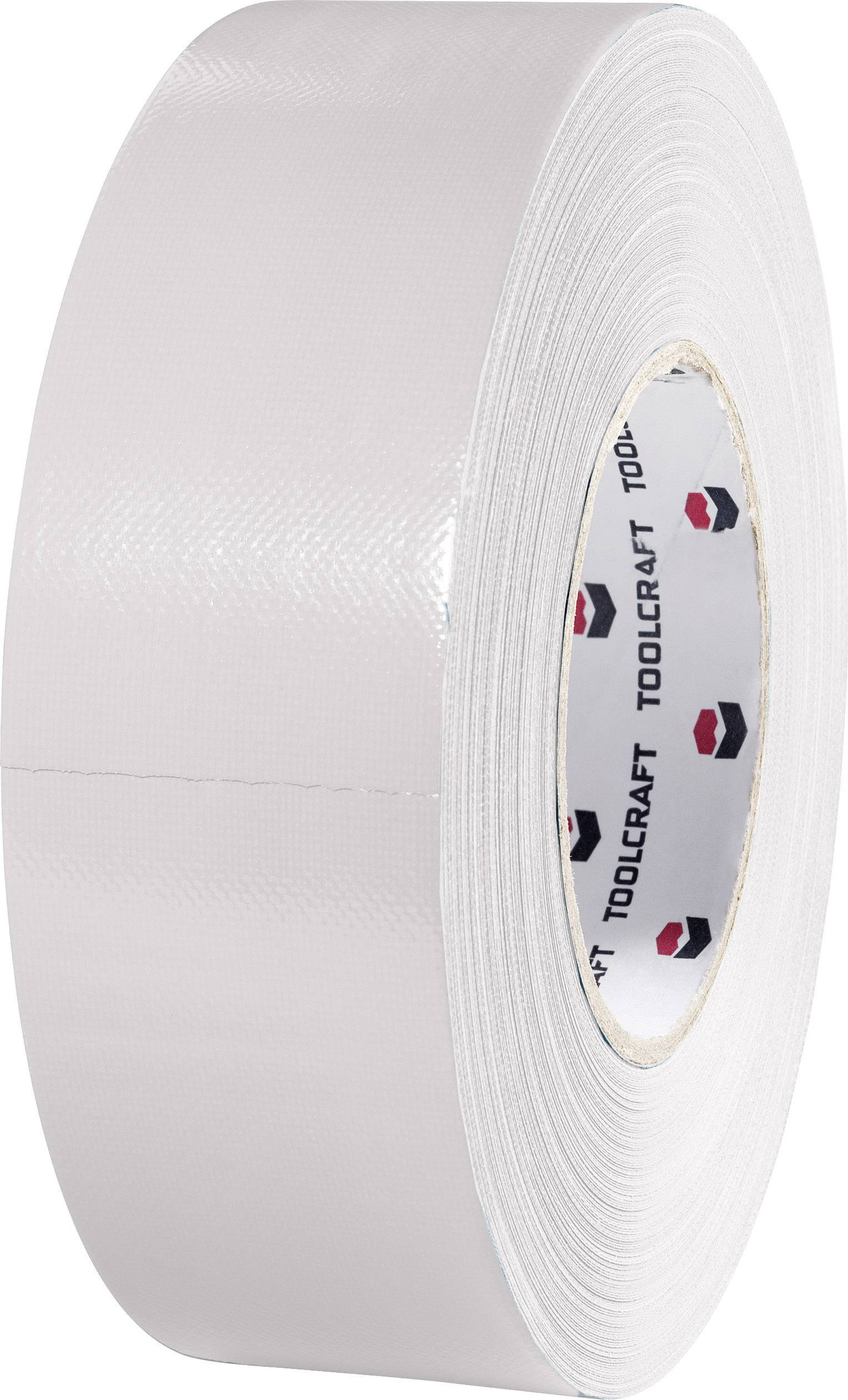 Heavy duty tape TOOLCRAFT 80S1250500 80S1250500, (d x š) 50 m x 50 mm, strieborná, 1 roliek