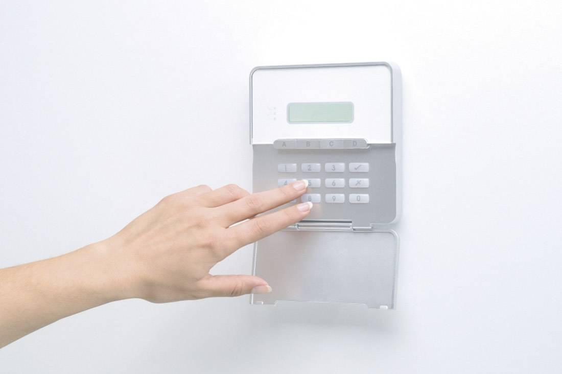 Přídavná LCD ovládací jednotka pro poplašný sytém Abus Terxon AZ4111