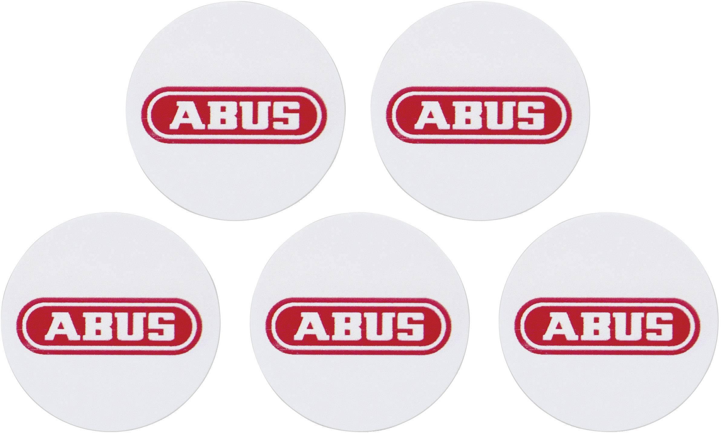 Čipová proximity samolepka pre aktiváciu/deaktiváciu alarmu ABUS Terxon, AZ5502, 5ks