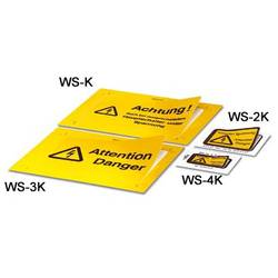 Warning label WS-3K Phoenix Contact WS-3K 1004490