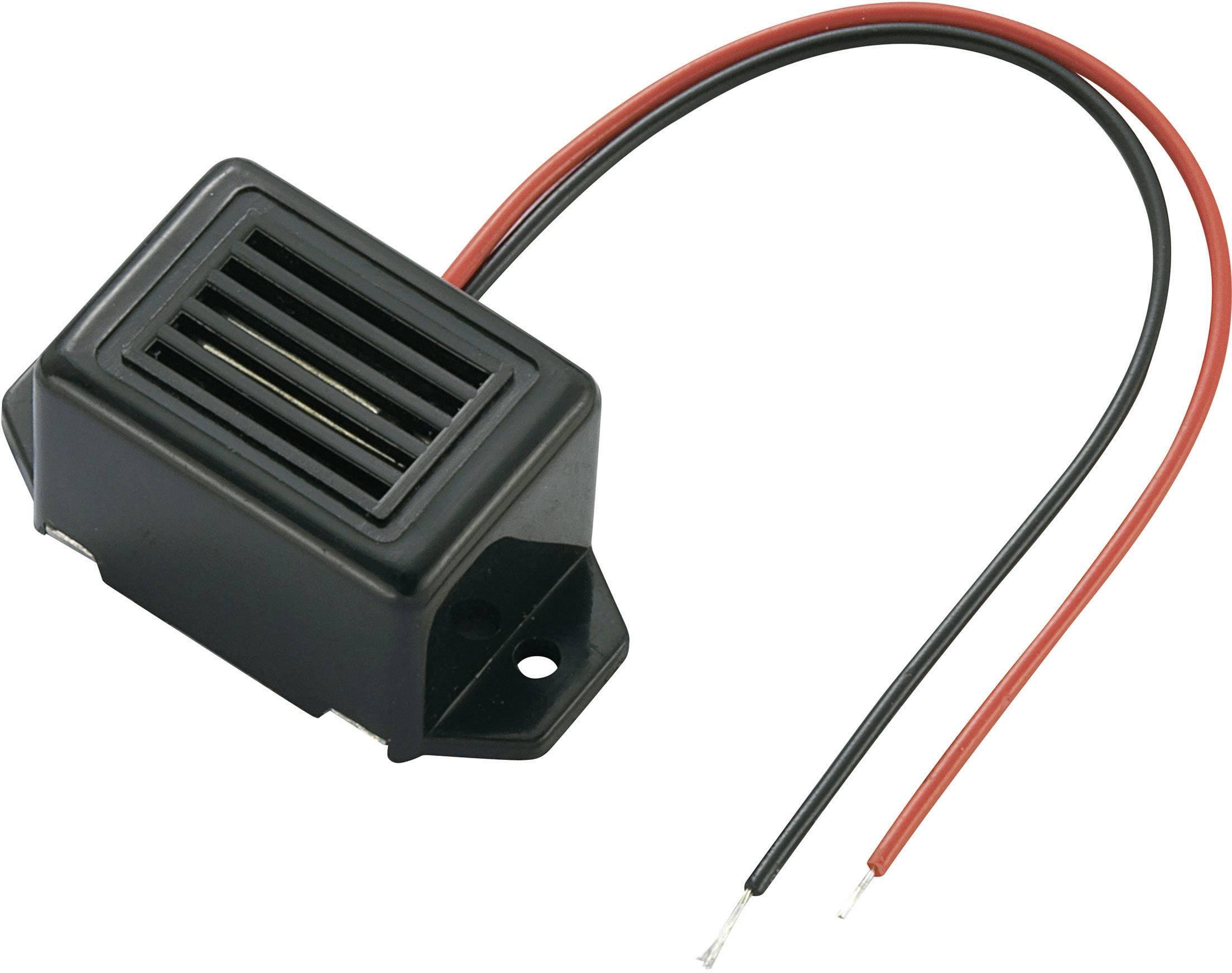 Vestavný bzučák 70 dB KEPO KPMB-G2315L1-K6439, černá
