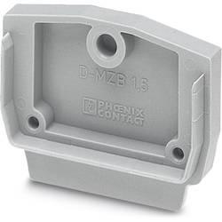 End cover D-MZB 1,5 BU Phoenix Contact 50 ks