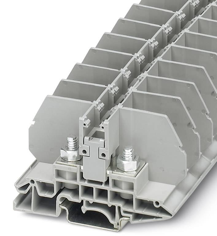 Svorka pro šroubový spoj Phoenix Contact RBO 6 3075896, 40 ks, šedá