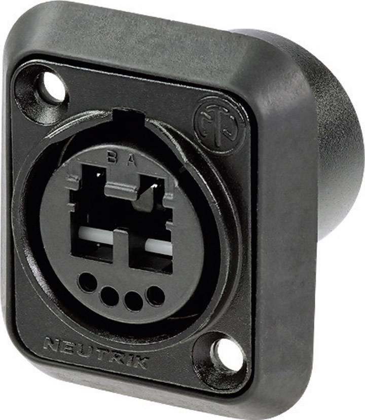 Konektor na optický kábel Neutrik NO2-4FDW-1-A NO2-4FDW-1-A