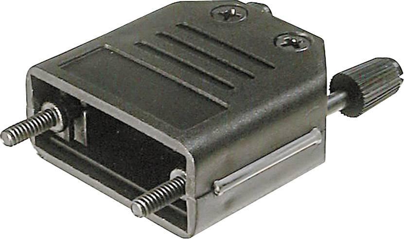 D-SUB púzdro ASSMANN WSW A-FT 15 A-FT 15, počet pinov: 15, plast, 180 °, čierna, 1 ks