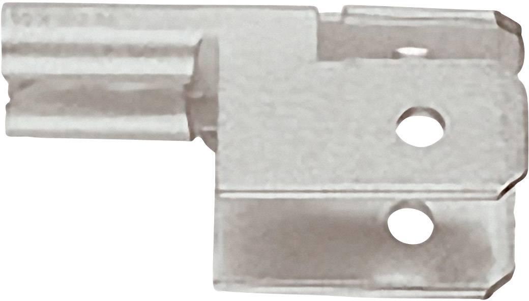 Plochý rozdělovač Klauke 775 6.3 mm x 0.8 mm, 90 °, neizolované, kov, 1 ks