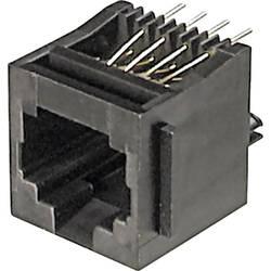 Konektor do DPS ASSMANN WSW A-20142, 8P8C, zásuvka vestavná, černá