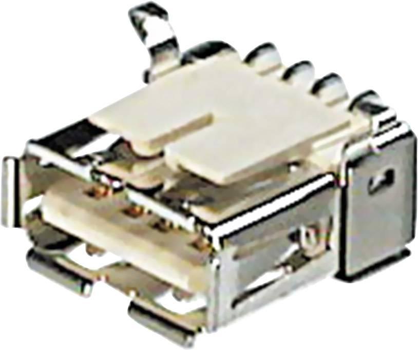 USB 2.0 zásuvka, vstavateľná ASSMANN WSW A-USB A/SMT A-USB A/SMT, 1 ks