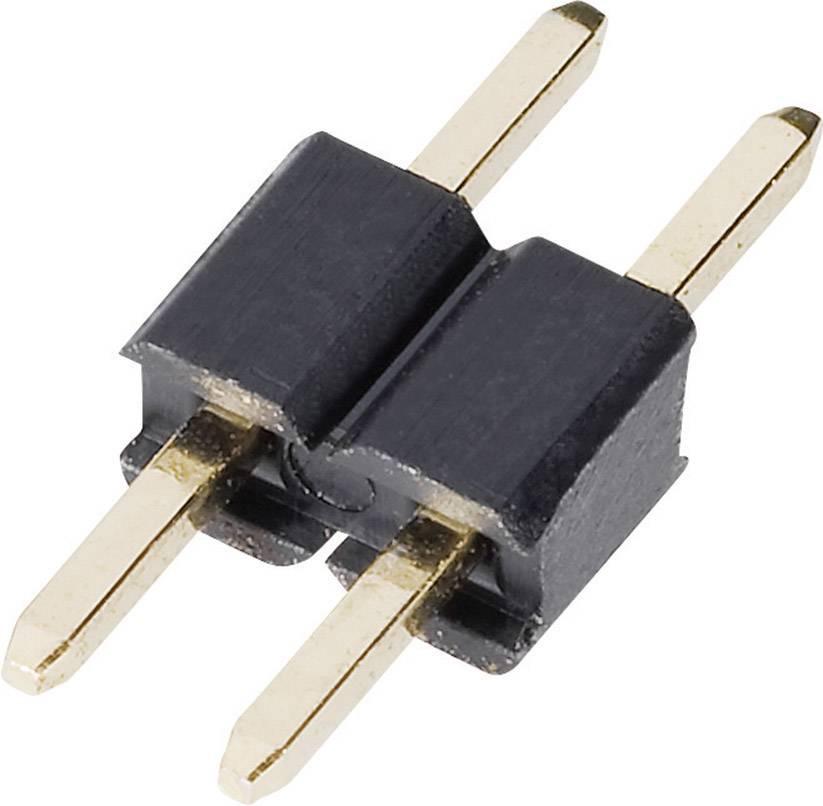 Pinová lišta (štandardná) TRU COMPONENTS TC-048612-002-1-00, řádky 1, kontakty na řádek 2, 1 ks