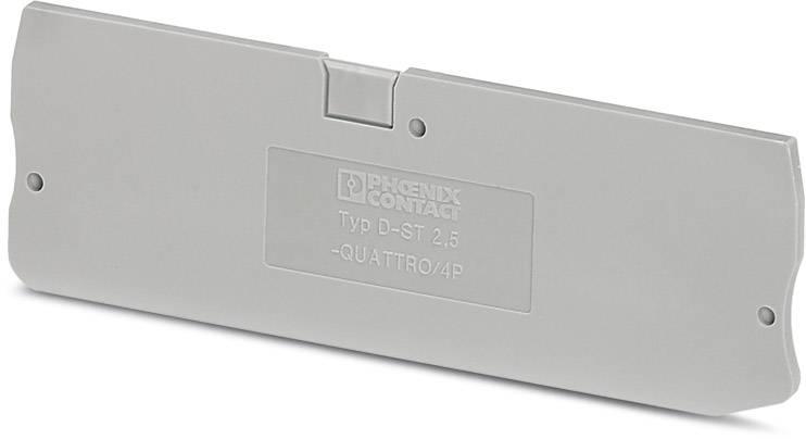 End cover D-ST 2,5-QUATTRO/4P Phoenix Contact 50 ks