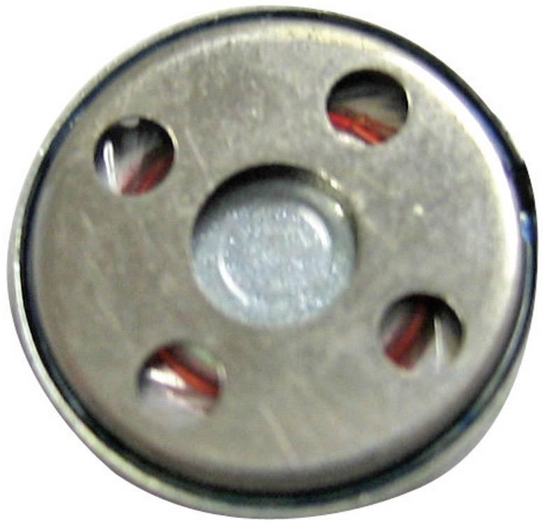 Mini reproduktor, 0,3 W, 1050 Hz, 83 dB, 8 Ω