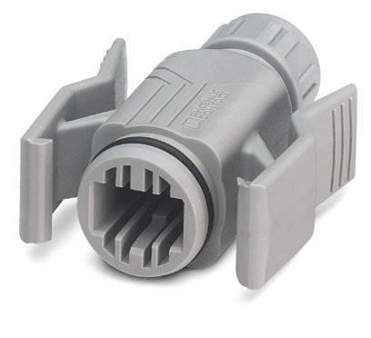 Neupravený zástrčkový konektor pre senzory - aktory Phoenix Contact VS-08-T-RJ45/IP67 1688696, 5 ks