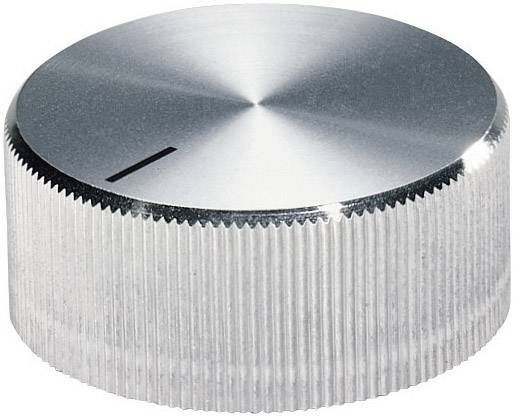 Otočný gombík OKW A1418261, (Ø x v) 17.8 mm x 12 mm, hliník, 1 ks